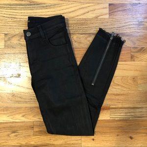 J Brand Zip Ankle Alana Jeans